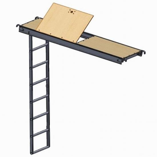 Aluminum Plywood Ladder Hatch Deck
